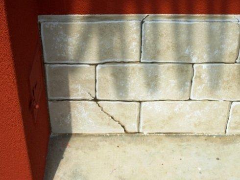 abbassamento esterno in finta pietra