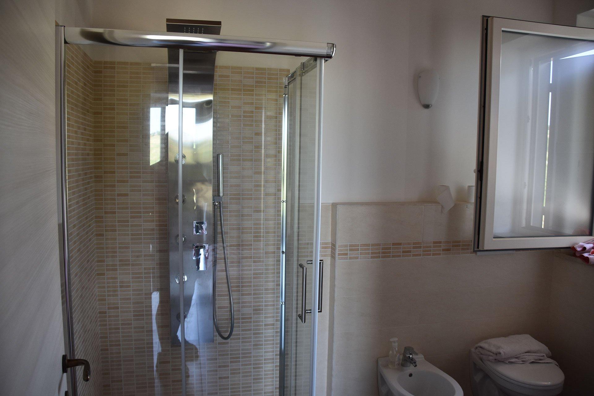 Uno dei bagni dei nostri appartamenti