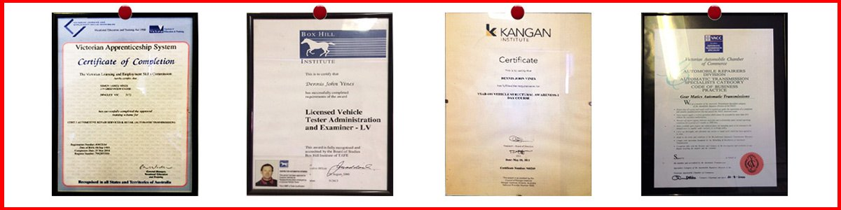 Our car roadworthy certificates in Mordialloc