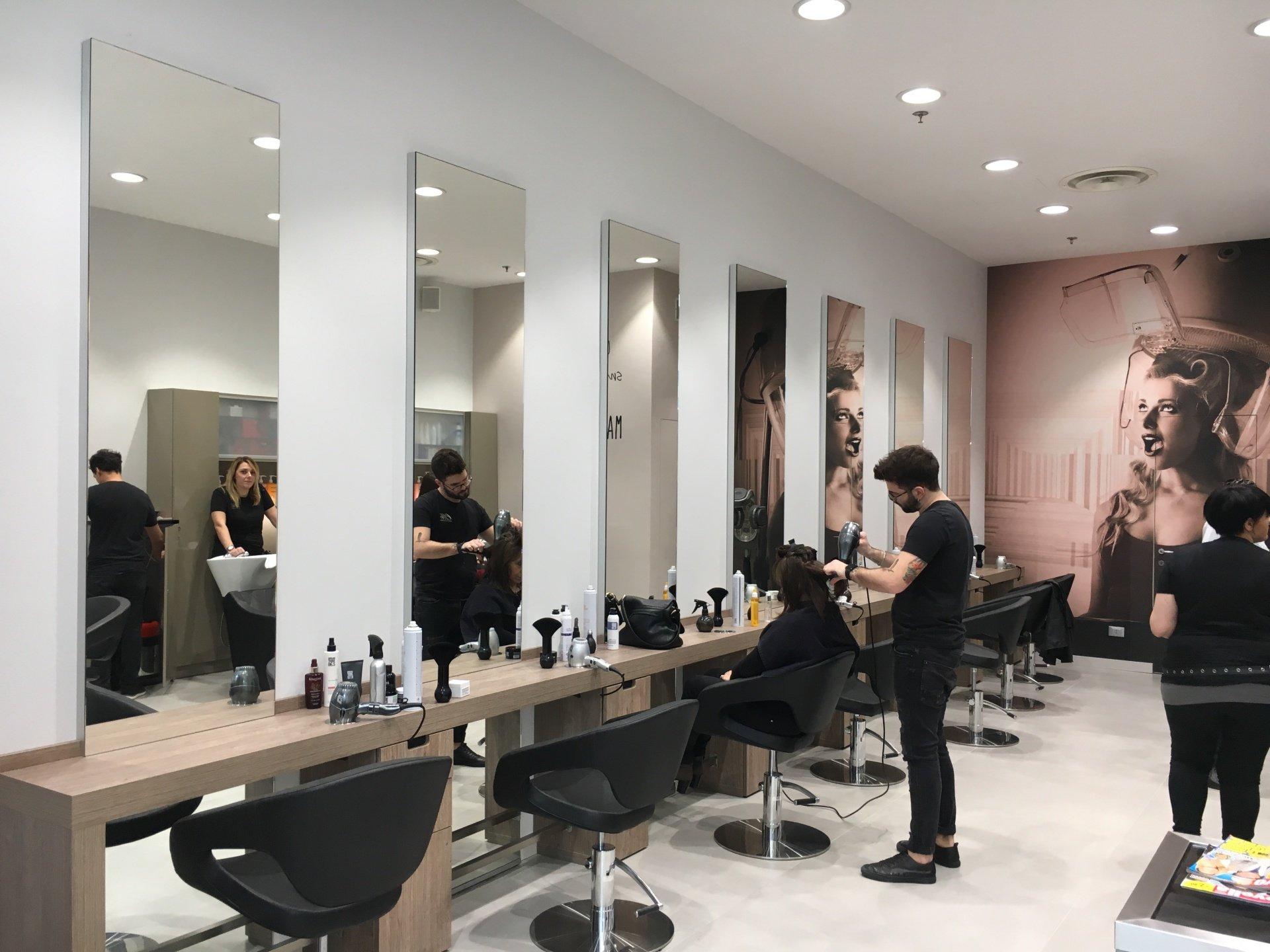 Arredo parrucchieri casalino s.r. progetti arredo e design