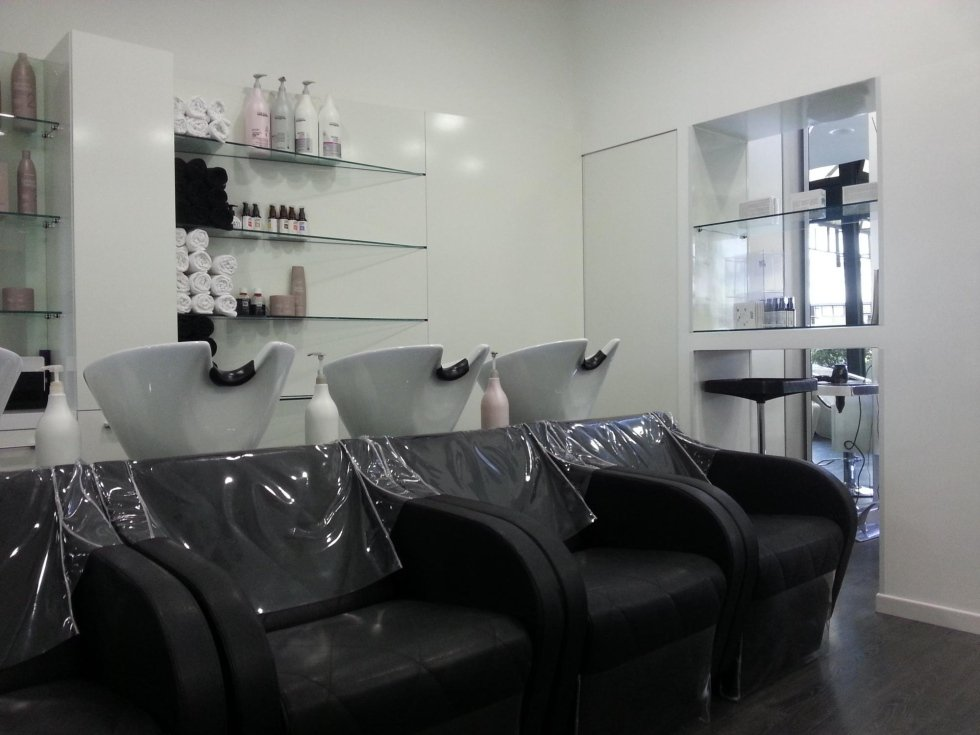 Favoloso Arredamento negozi per parrucchieri - Novara - S.R. Progetti TW77
