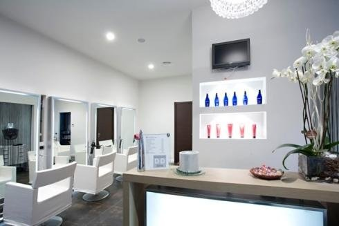 Arredamento negozi per parrucchieri novara s r progetti