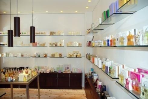 Mensole in vetro per prodotti
