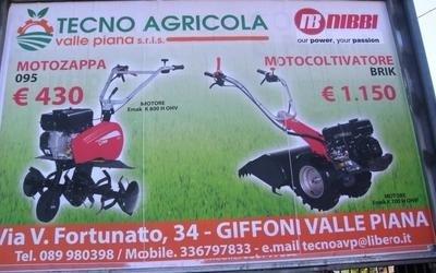 vendita macchine agricole leggere