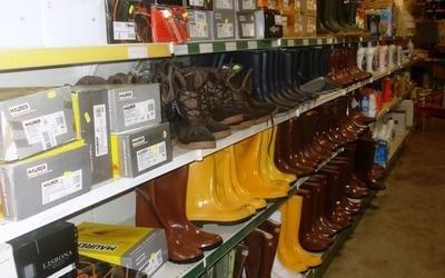 vendita stivali per agricoltura