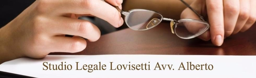 ALBERTO LOVISETTI AVV.  LEGAL PRACTICE