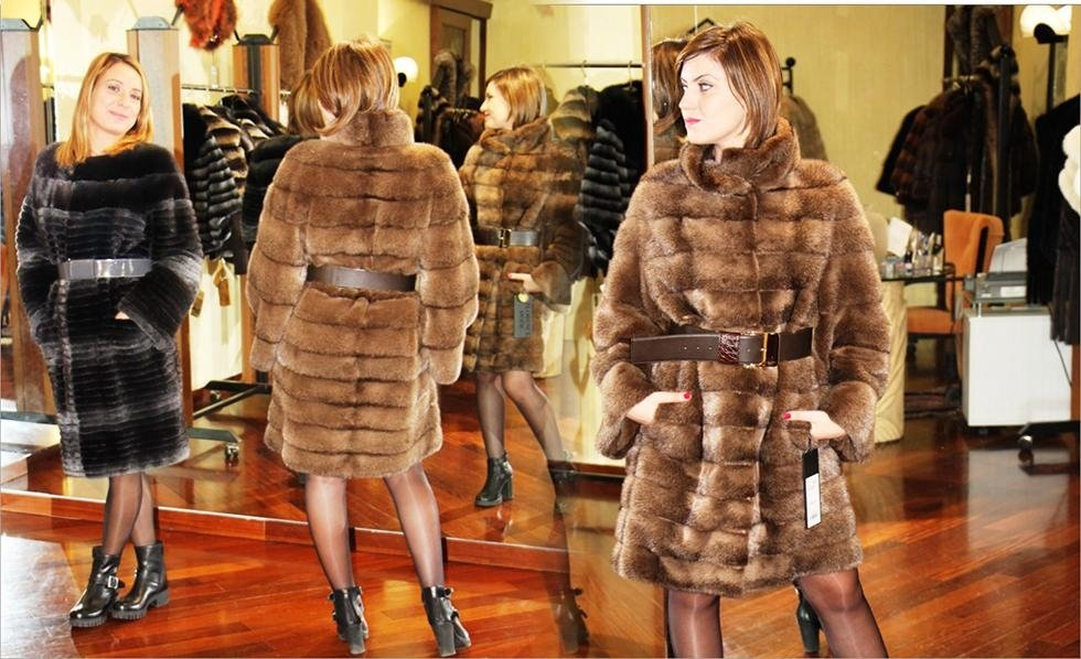 giacca pelliccia