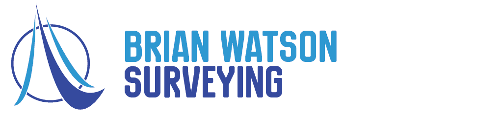 brian watson surveying business logo image