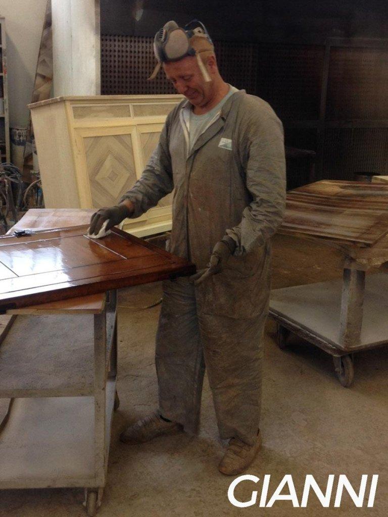 gianni lucidatura legno