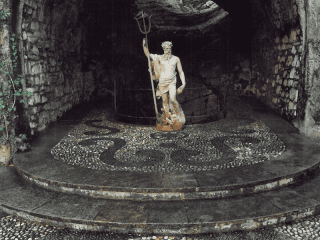 giardini artistici in pietra