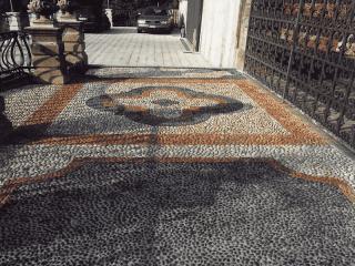 pavementi realizzati in pietra como