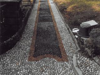 creazione vialetti in pietra como