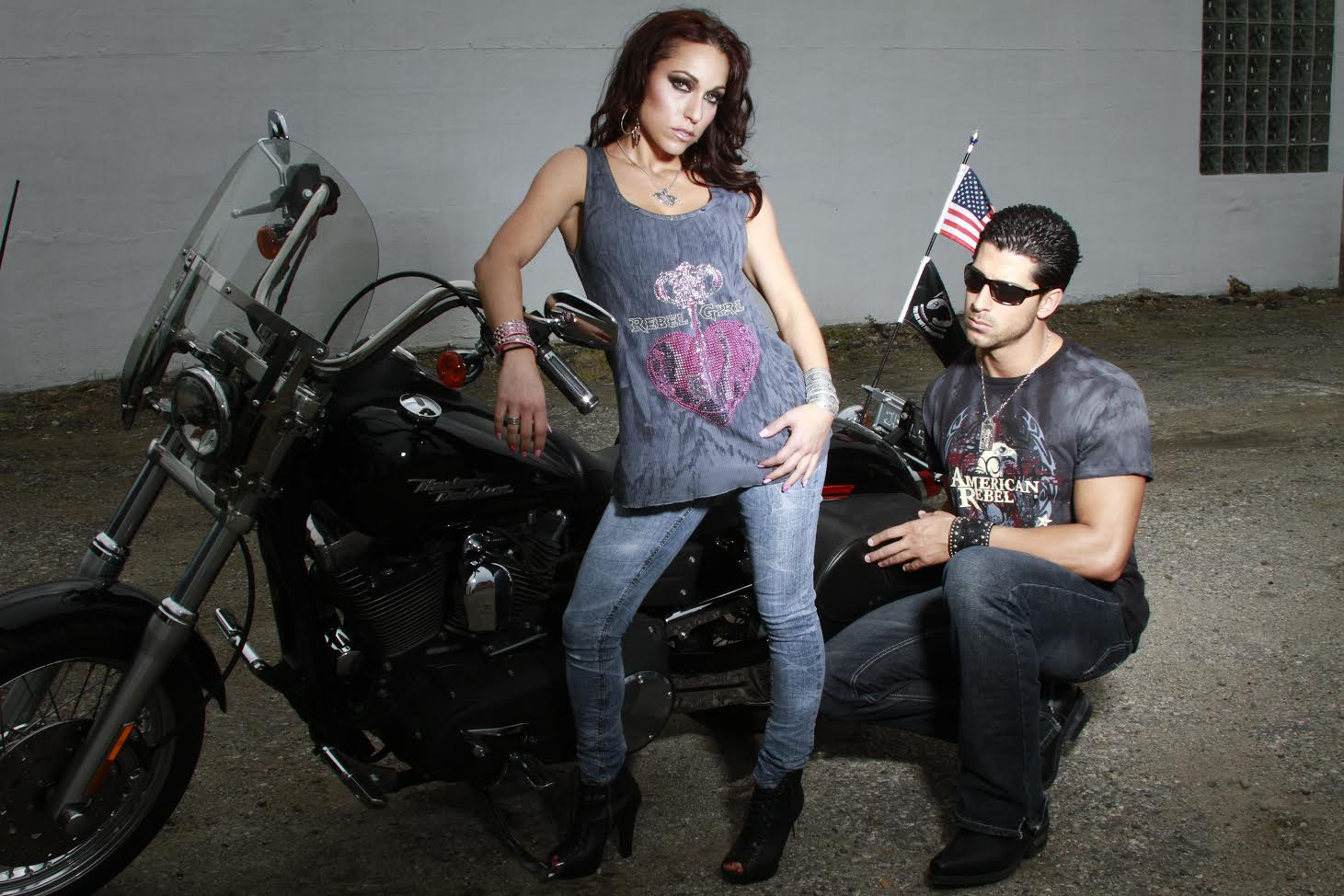Rebel Girl and American Rebel T-Shirts