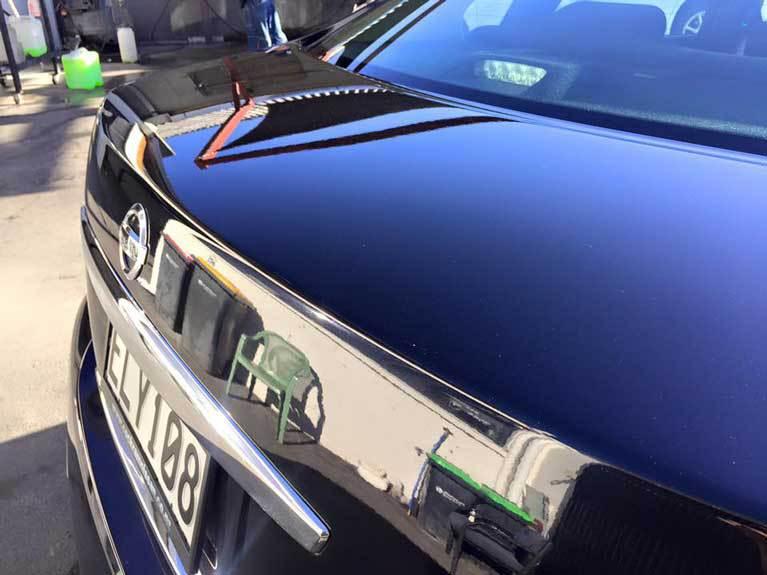 back dark car
