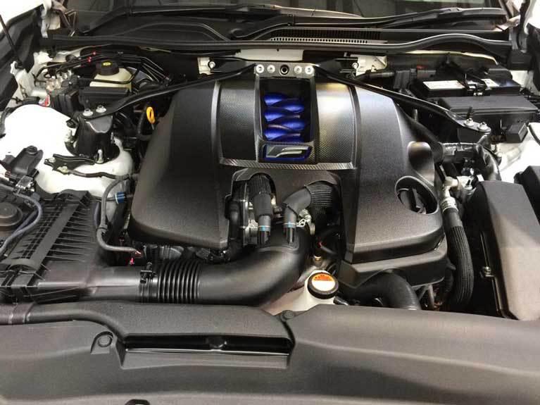 motor car cleaned