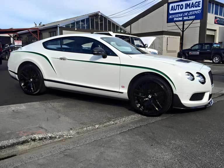 white car luxe