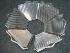 View of a Laser cutting work