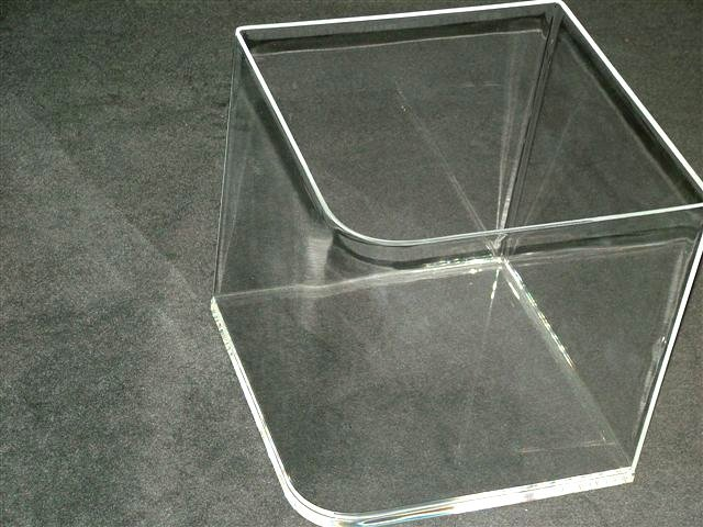 View of a Acrylic Fabrication box