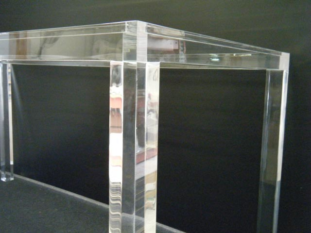 View of a Acrylic Fabrication work