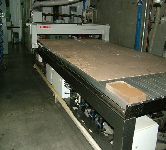 Flat Bed Routers machine