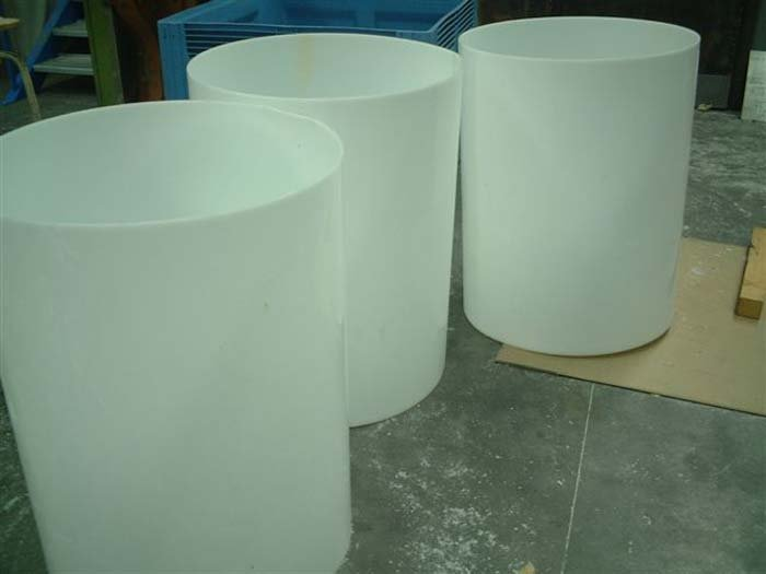 View of moulded plastic product
