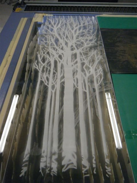 Laser Etched product