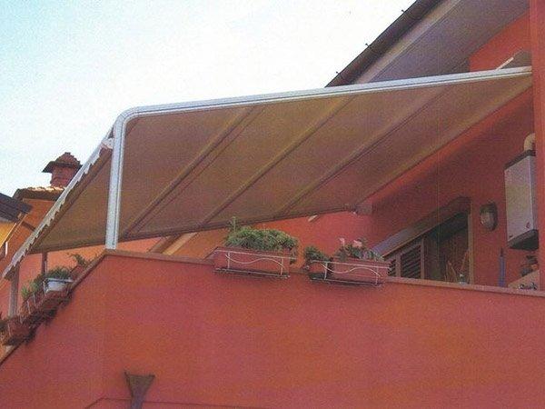 tenda sole attico