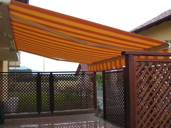 tenda da sole bracci