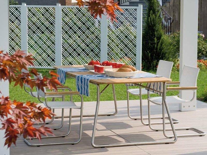 Tavolo legno esterno