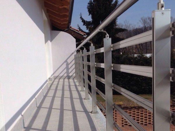 Balaustre E Ringhiere In Vetro E Alluminio Reggio Calabria