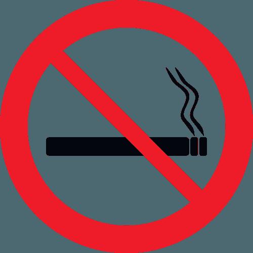 insegna vietato fumare