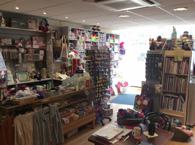 Yarn, fabric and accessories in our shop