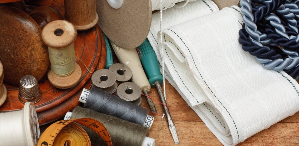 Materials for curtain-making