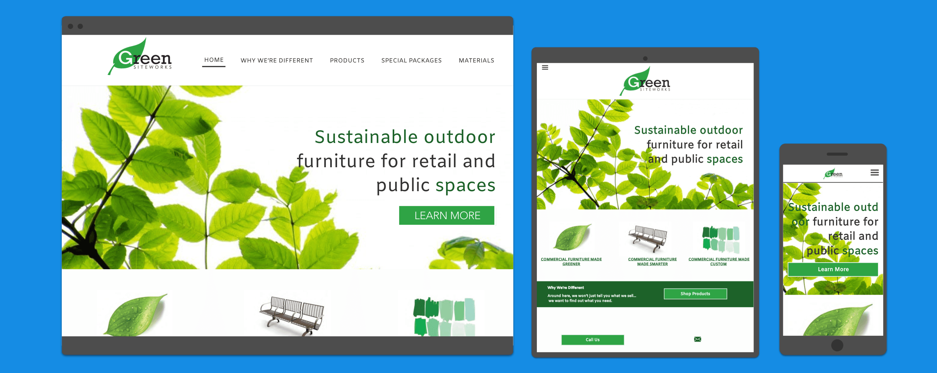 Web Development Portfolio - Furniture Company