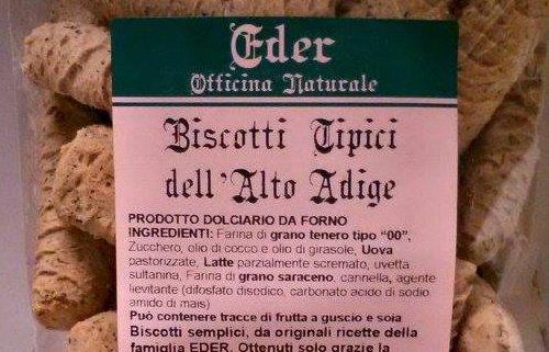 Biscotti tipici in provincia di Trento