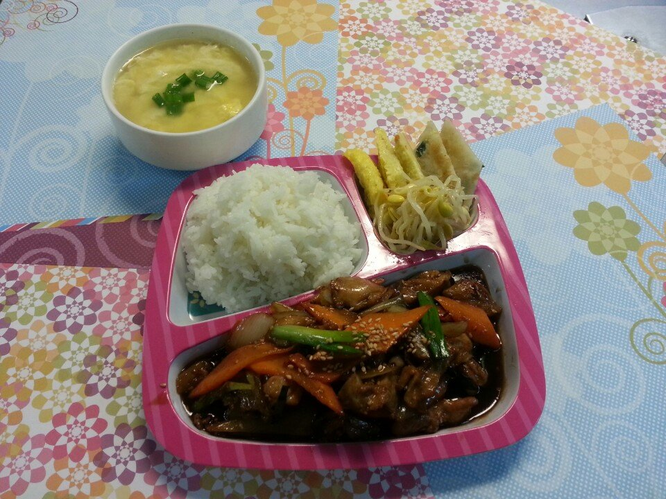 Kids Meal Bulgogi Chicken