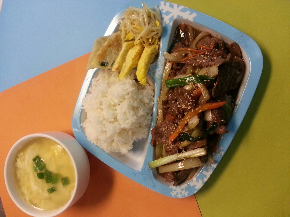 Kids Meal Bulgogi Beef