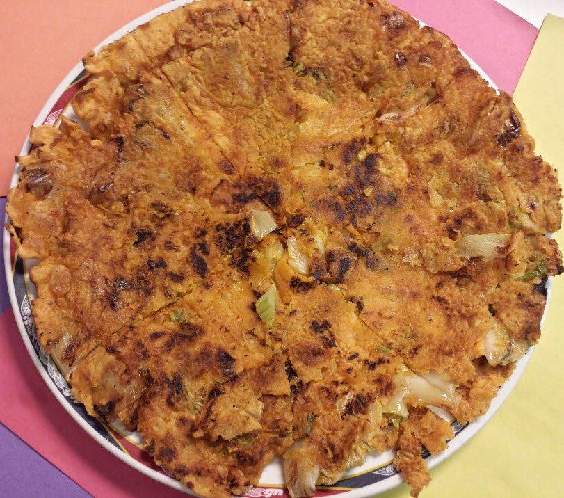 Kimchi Jeon, kimchi pancake
