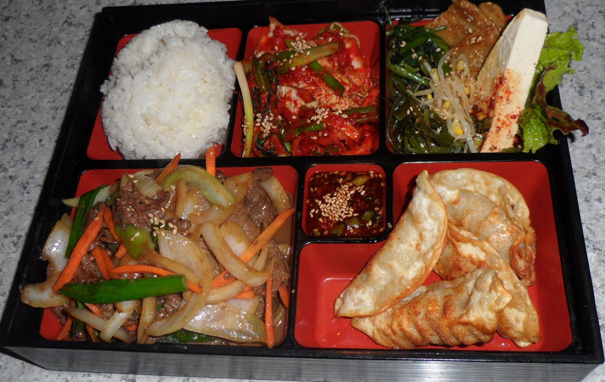 Korean Bulgogi Lunch Box