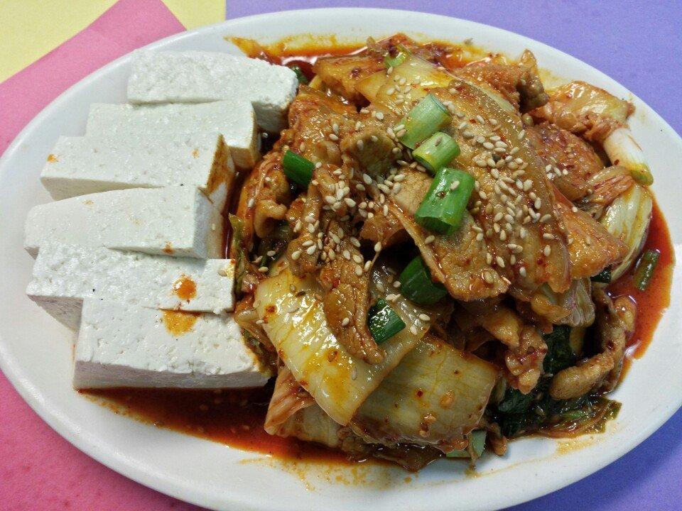 Samgyupsal Tofu Kimchi