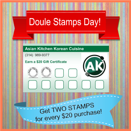 Double Stamps Day
