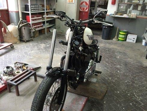 restauro moto, grosseto, triumph boneville t 100