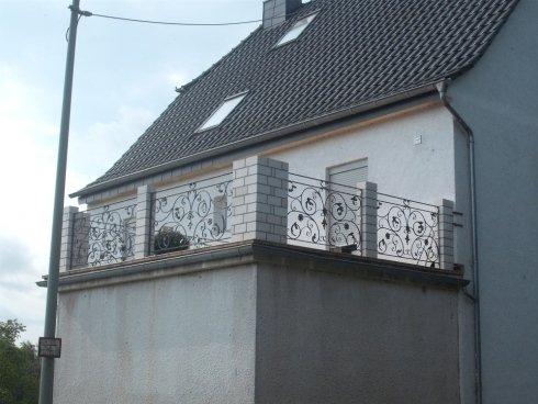 Ringhiera in ferro per terrazzo