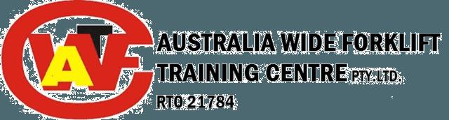 australia wide forklift training centre logo