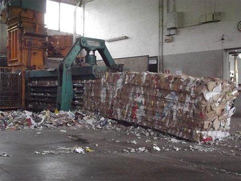 impianto di stoccaggio carta e cartone ghemme novara