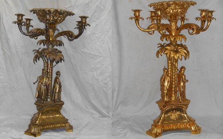 Risultati immagini per restauro cornici argentatura