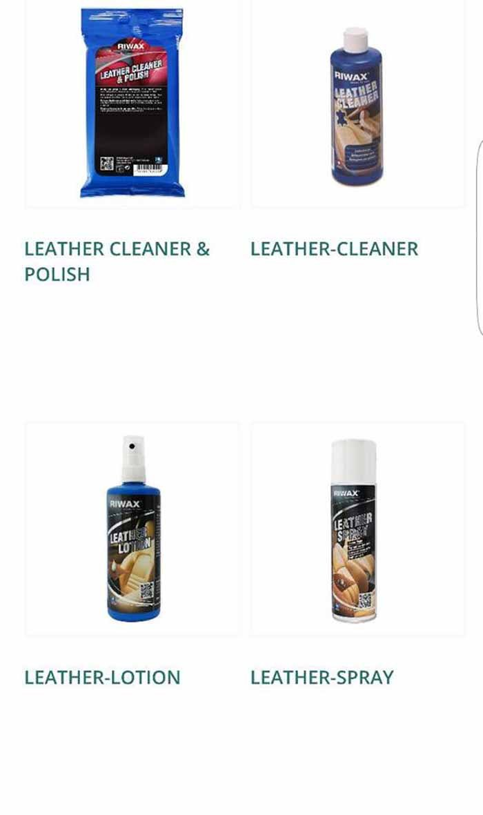 LEATHER CLEANER & POLISH-LEATHER-CLEANER-LEATHER LOTION-LEATHER SPRAY logo