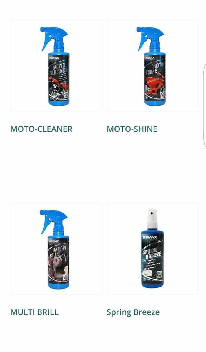 MOTO CLEANER-MOTO SHINE-MULTI BRILL-SPRING BREEZ logo
