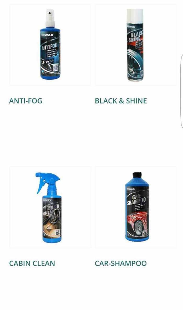 ANTI-FOG-BLACK & SHINE-CABIN CLEAN-CAR-SHAMPOO logo