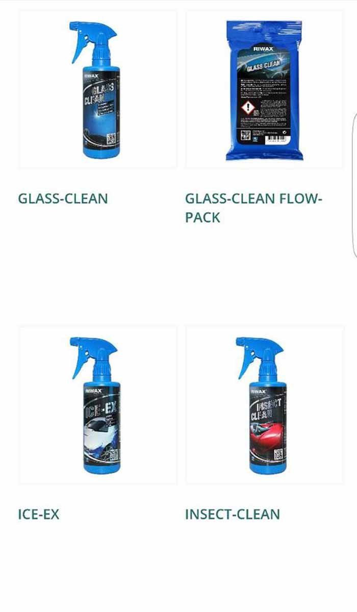 GLASS CLEAN-GLASS CLEAN FLOW PACK-ICE EX-INSECT CLEAN logo